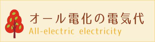 オール電化住宅の電気代